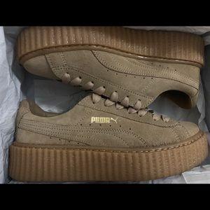 Puma Shoes - FENTY PUMA: Suede Creepers